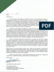 Cartas del Presidente de la LBPRC y de la LMP