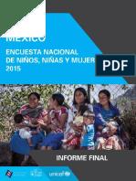 Unicef México Enim2015