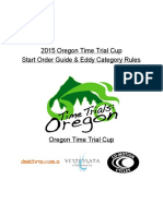 Oregon TT Cup Quick Guide 2015
