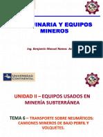 Máquina y Equipo Minero_Tema_06