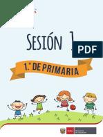 1 Grado Sesion 1