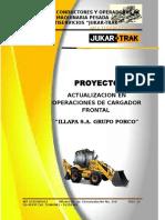 Proyecto de Capacitacion en Cargadora Frontal Illapa s.s