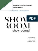Strategie i Modele Ebiznesu SHOWROOM