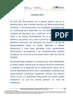 CONATEL abre procedimiento administrativo sancionatorio a CNN en Español