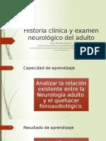 21. Historia Clinica y Examen Neurologico Adultos
