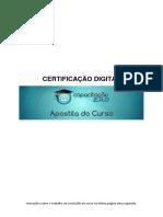 Apostila Certificação Digital