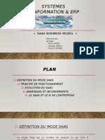SAAS Business Model présentation