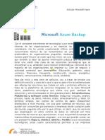 Artículo de Azure Backup