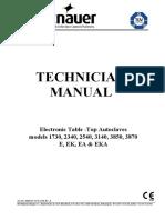 Tuttnauer 1730,2340,2540,3140,3850,3870 Autoclave - Service manual.pdf