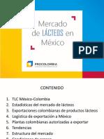 Mercado de Lacteos Mexico-colombia