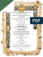 Flor de Floripundio