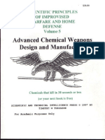 Scientific Principles of Improvised Warfare and Home Defense - Vol 5 - Chemical Weapons - Tobiason