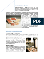 Atmósferas Modificadas en La Industria de Alimentos - Revista Enfoque Alimentos (Edición Mayo-junio)