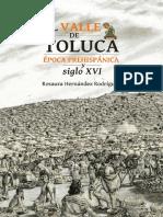 El Valle de Toluca-Epoca Prehispanica
