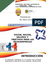 Taller Microempresarial_Visión_Misión_Valores_Objetivos.pptx