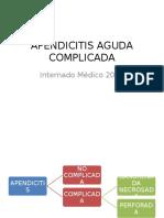 Apendicitis Aguda Complicada