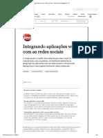 5-Integrando aplicações web com as redes sociais - Revista Java Magazine 111.pdf