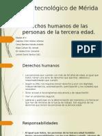 Derechos Humanos de Las Personas de La Tercera