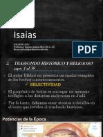 Isaias - Trasfondo historico caps. 1-39