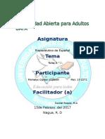 Tarea II Propedeutico Español