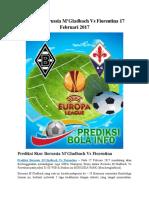 Prediksi Borussia M'Gladbach vs Fiorentina 17 Februari 2017