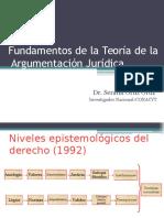 Fundamentos de la Teoría de la  Argumentación Jurídica.pptx