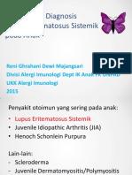 Materi Sympo Online Diagnosis Sle 010715 Rev1