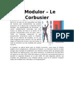 El Arquitecto Le Corbusier