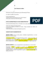 Ato Administrativo - Esquema