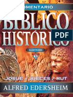 Alfred Edersheim - Comentario Bíblico Histórico 3. Josué, Jueces y Rut