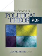 BEVIR Encyclopedia of Political Theory
