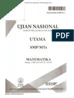 SOAL UN SMP 2015 MTK PAKET 394.pdf