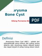 Aneurisma Kista Tulang