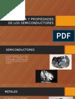 Estructura y Propiedades de Los Semiconductores
