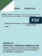 Curso Turbinas Hidráulicas I Unidad 4