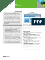 VMware VCloud Suite Datasheet
