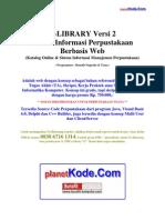 eLibrary v2- ERD dan Desain Sistem Informasi Perpustakaan Berbasis Web untuk Contoh Tugas Akhir(TA) dan Skripsi bidang Informatika