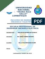 Fijacion de Tarifas Eléctricas en El Perú