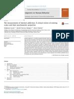 The measurement of Internet addiction.pdf