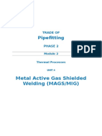 M2_U4_Metal Active Gas Shielded Welding