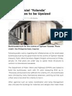 Controversial Yolanda Bunkhouses to Be Upsized