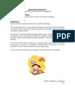 Estrategia Didactica Español