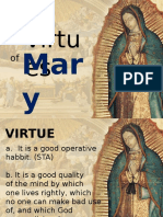 The Ten Virtues of Mary