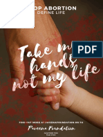 take my handsnot my life