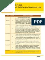 dipp1510 daily activity  achievement log  1