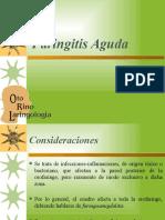 Faringitis Aguda y Crónica ABG
