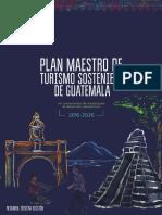Plan Maestro de turismo sostenible Guatemala 2016-2026 Tercera Edicion