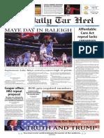 The Daily Tar Heel for Feb. 16, 2017