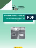 Información del Certificado Aptitud Profesional