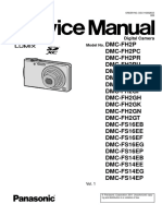 Panasonic Dmc-fh2pu Vol 1 Service Manual